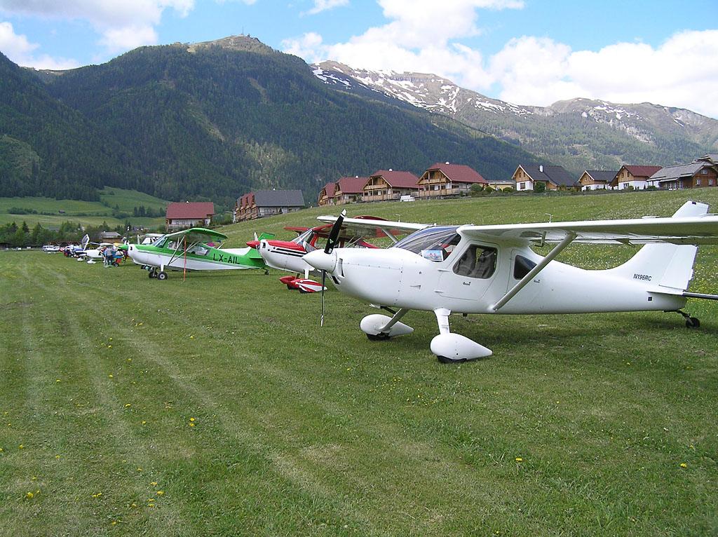 Flight Line in Mauterndorf